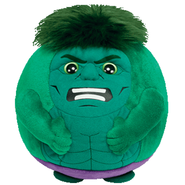 Ty Beanie Ballz Hulk 8-Inch Plush