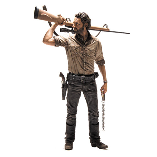 Walking Dead TV Rick Grimes 10-Inch Deluxe Action Figure