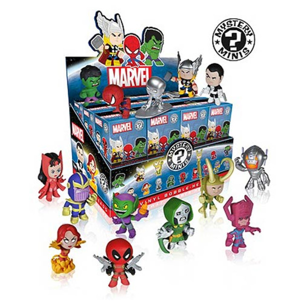 Marvel Mystery Minis Vinyl Mini-Figure Bobble Head 4-Pack