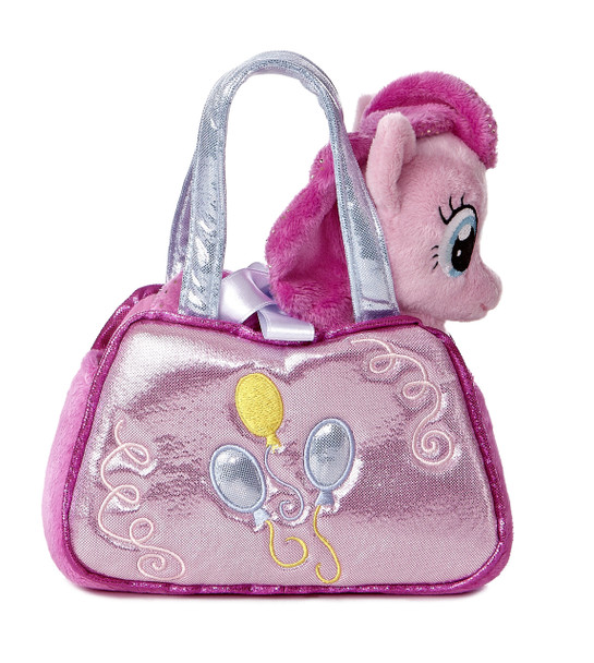 My Little Pony Pinky Pie Cutie Mark Carrier with 6.5-Inch Plush