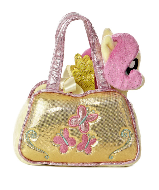 My Little Pony Fluttershy Cutie Mark Carrier with 6.5-Inch Plush