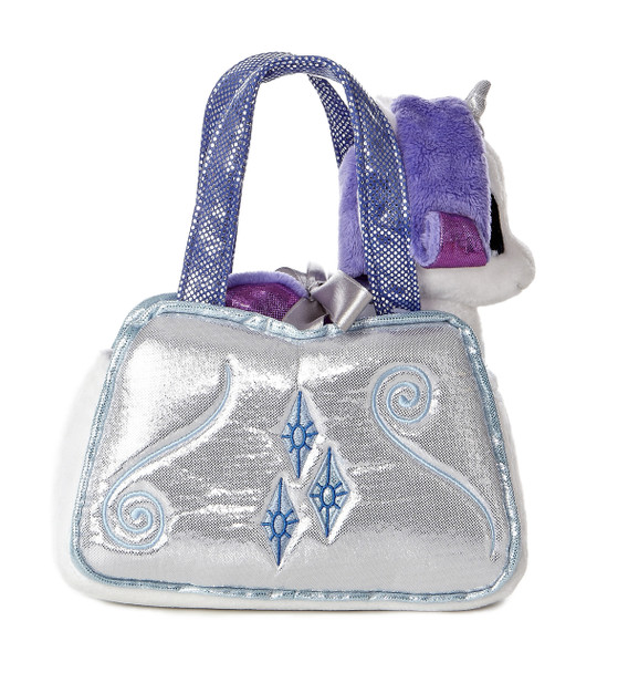 My Little Pony Rarity Cutie Mark Carrier with 6.5-Inch Plush