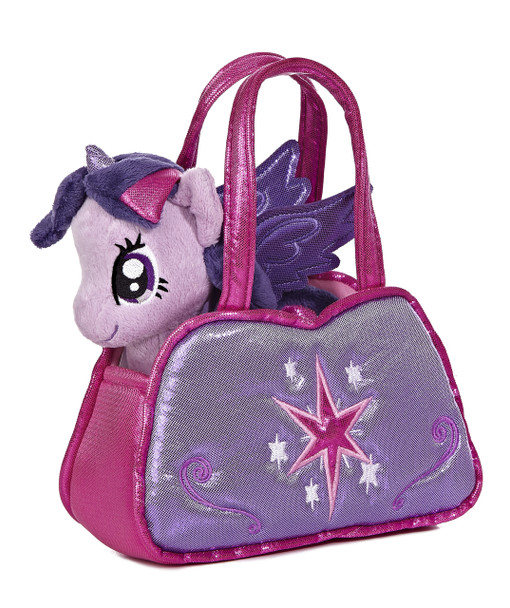My Little Pony Twilight Sparkle Cutie Mark Carrier with 6.5-Inch Plush