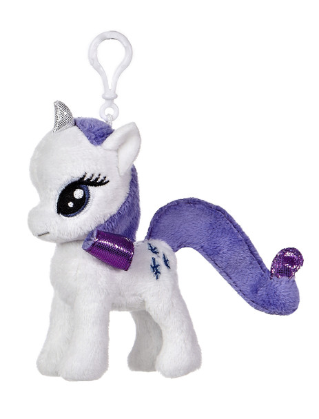My Little Pony Rarity 4.5-Inch Clip-On Plush