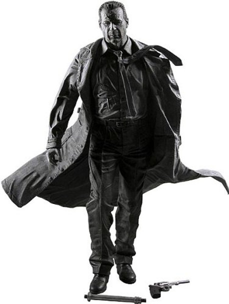 Sin City Series 1 Hartigan Black and White Action Figure