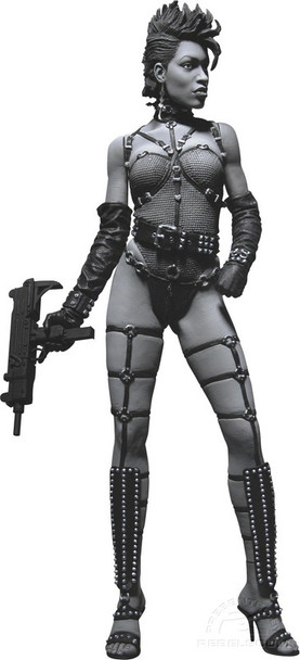 Sin City Series 1 Gail Black and White Action Figure