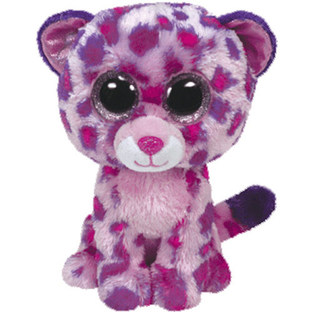 TY Beanie Boos Glamour the Pink Leopard 16-Inch Plush