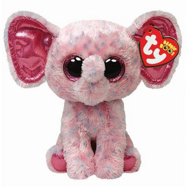 TY Beanie Boos Ellie the Pink Elephant 6-Inch Plush
