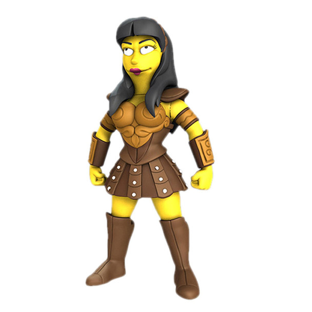 Simpsons 5-Inch Celebrity Guest Series 2 Lucy Lawless Action Figure