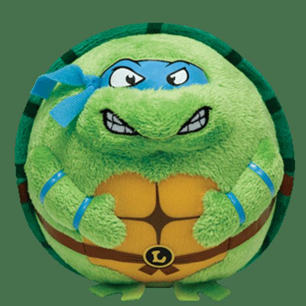 Ty Beanie Ballz Teenage Mutant Ninja Turtles Leonardo 5-Inch Plush