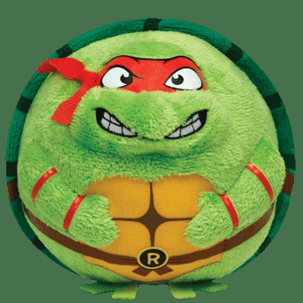 Ty Beanie Ballz Teenage Mutant Ninja Turtles Raphael 5-Inch Plush