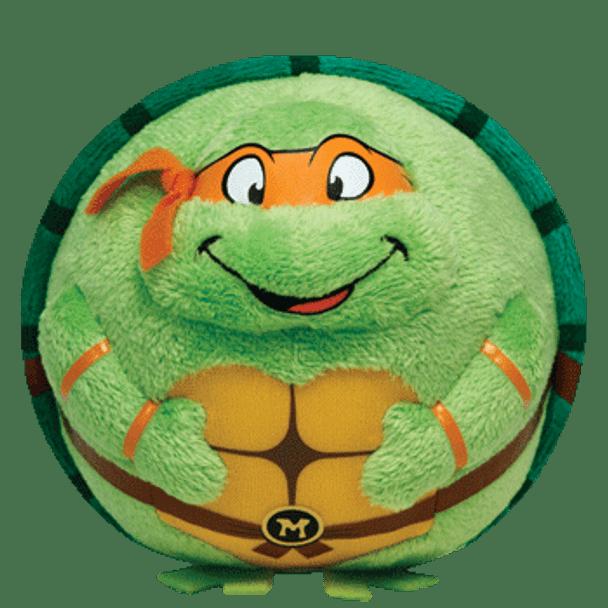 Ty Beanie Ballz Teenage Mutant Ninja Turtles Michelangelo 5-Inch Plush