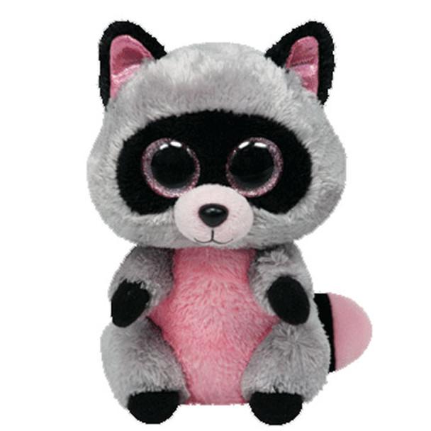 TY Beanie Boos Raccoon Rocco 6-Inch Plush