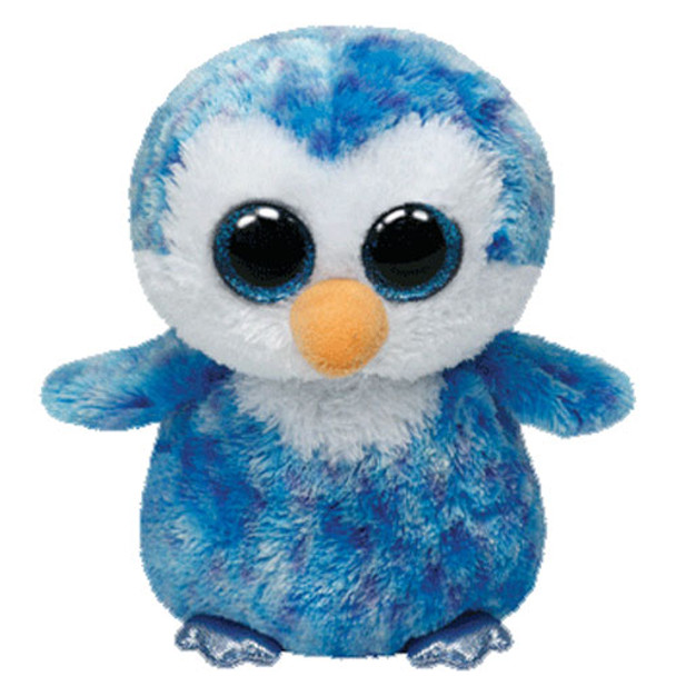 TY Beanie Boos Penguin Ice Cube 6-Inch Plush