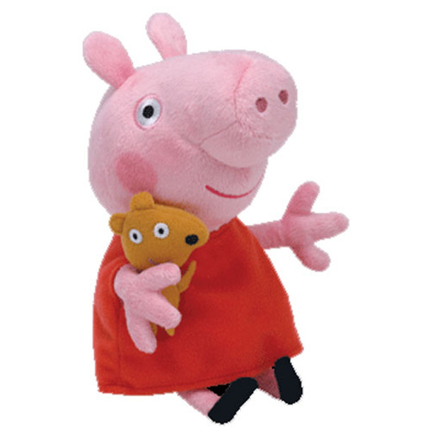 TY Beanie Babies Peppa Pig 6-Inch Plush
