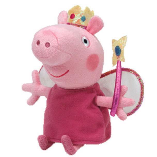 TY Beanie Babies Princess Peppa 6-Inch Plush