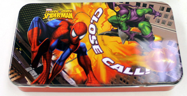 Spider-Man Vs Green Goblin Storage Box Tin