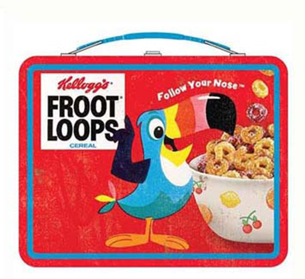 Kellogg's Vintage Froot Loops Tin Tote