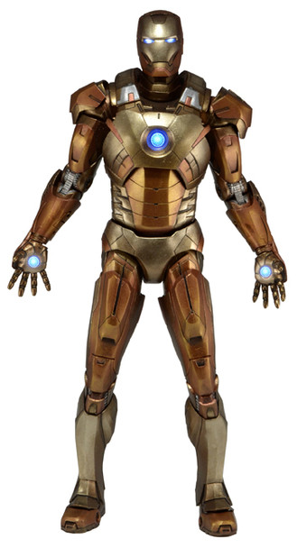 Avengers 1:4 Scale Iron Man Midas Armor Action Figure