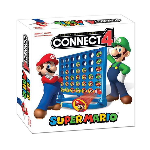 Super Mario Connect 4 Game