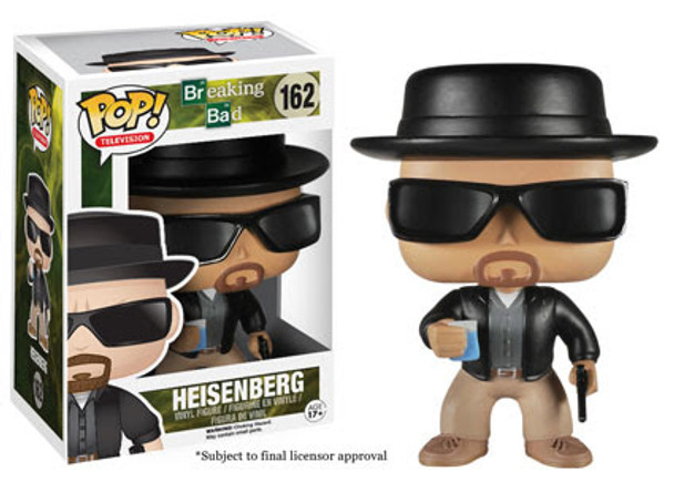 Breaking Bad Heisenberg Pop! Vinyl Figure