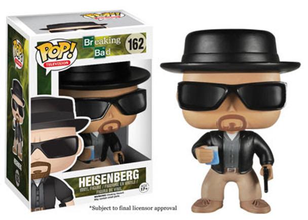 Breaking Bad Heisenberg Pop! Vinyl Figure