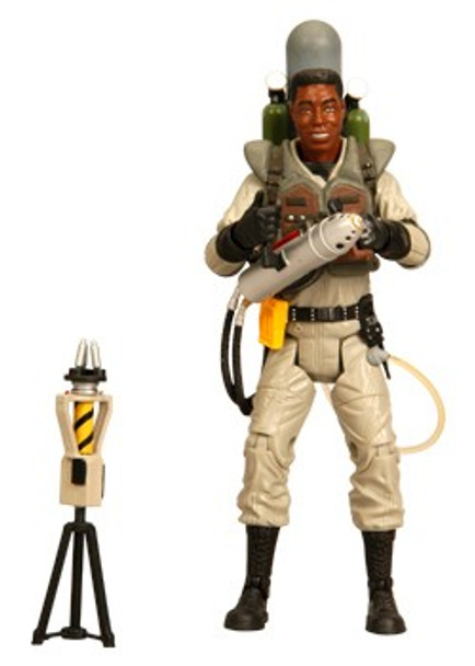 Ghostbusters Winston Zeddemore with Slime Blower