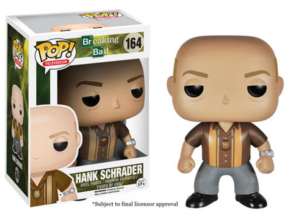 Breaking Bad Hank Shrader Pop! Vinyl Figure
