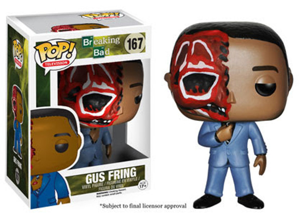 Breaking Bad Dead Gus Fring Pop! Vinyl Figure