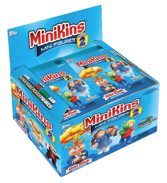 2014 Topps Garbage Pail Kids MiniKins Series 2 Mini Figure 4-Pack