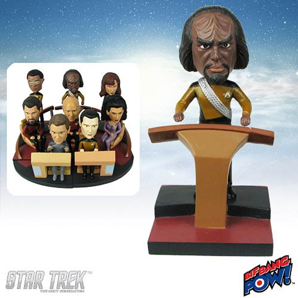 Star Trek: The Next Generation Worf Build-a-Bridge Bobble Head