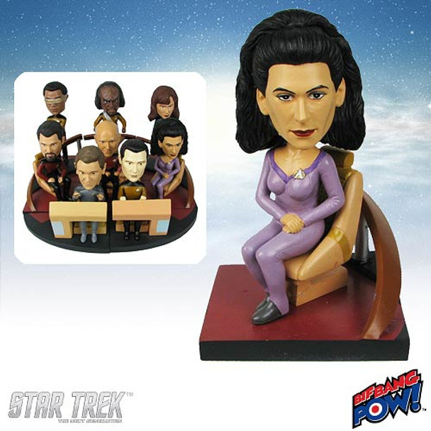 Star Trek: The Next Generation Troi Build-a-Bridge Bobble Head
