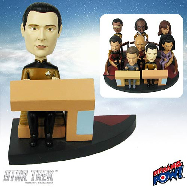 Star Trek: The Next Generation Data Build-a-Bridge Bobble Head
