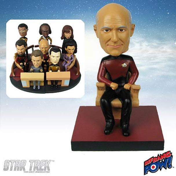 Star Trek: Next Generation Captain Picard Build-a-Bridge Bobble Head