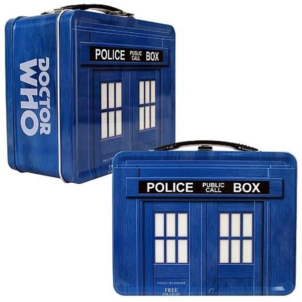 Doctor Who TARDIS Tin Tote