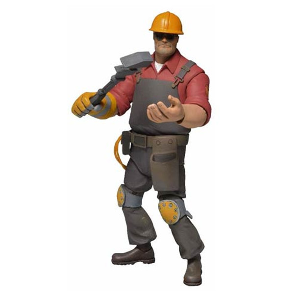 Team Fortress 2 Series 3 Red Engineer Action Figure