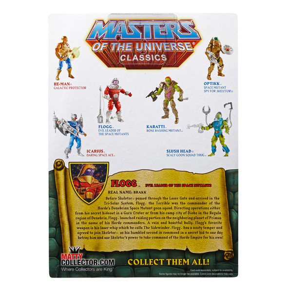 Masters Of The Universe Classics Flogg Figure