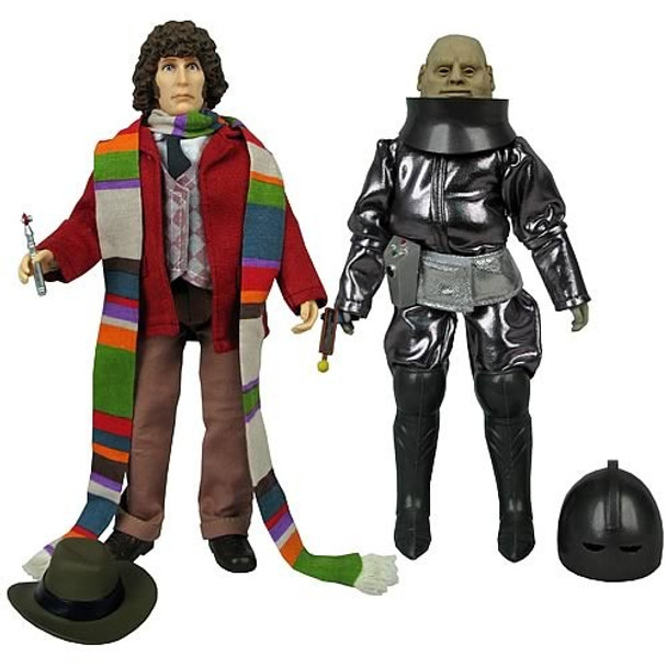 Doctor Who Fourth Doctor & Sontaran Major Styre Figures