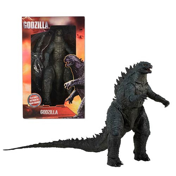 Godzilla 2014 Movie Modern 24-Inch Head to Tail Talking Action Figure