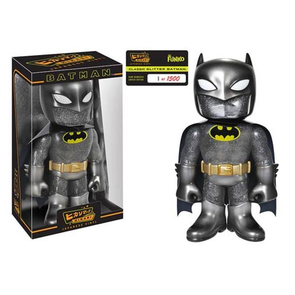 Batman Dark Knight Hikari Glitter Sofubi Vinyl Figure