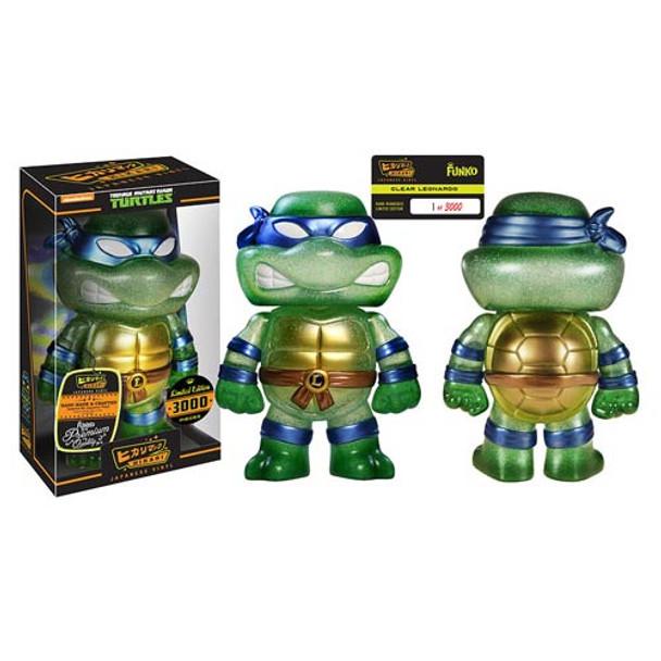 Teenage Mutant Ninja Turtles Clear Leonardo Hikari Sofubi Vinyl Figure