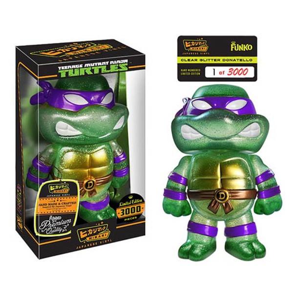 Teenage Mutant Ninja Turtles Clear Donatello Hikari Sofubi Vinyl Figure