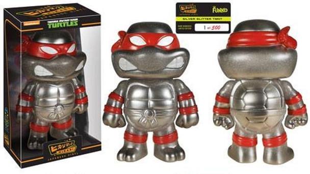 Teenage Mutant Ninja Turtles Ralphael Grey Glitter Hikari Sofubi Vinyl Figure