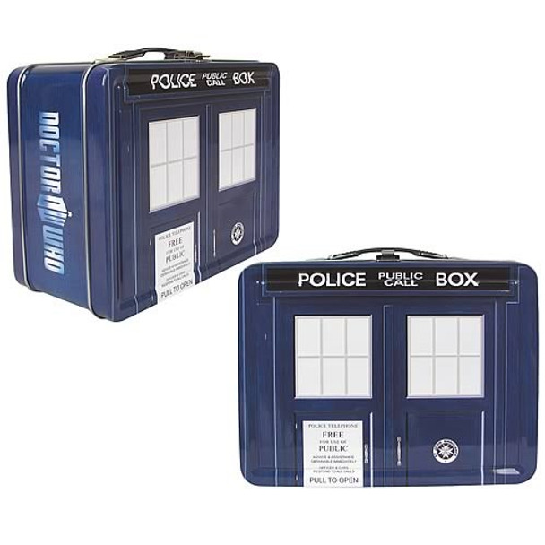 Doctor Who TARDIS Tin Tote - Modern