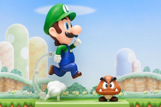 Super Mario Luigi Nendoroid Action Figure