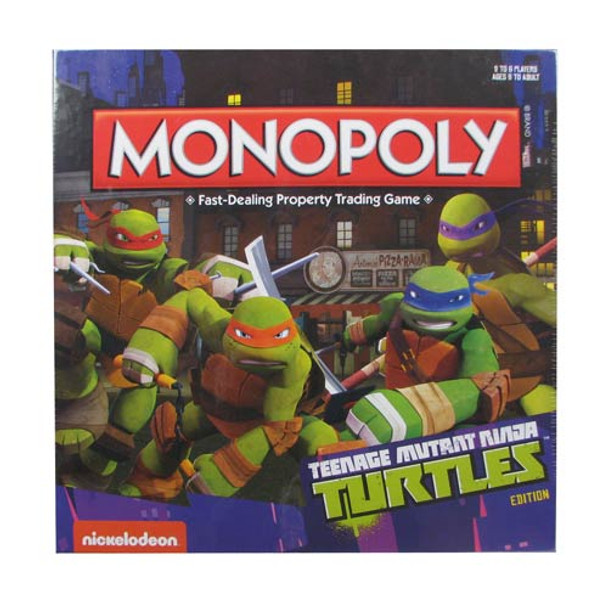 Teenage Mutant Ninja Turtles Nickelodeon Monopoly