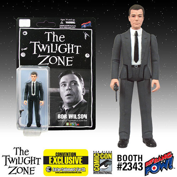 The Twilight Zone Bob Wilson 3 3/4-Inch Action Figure In Color - SDCC Exclusive