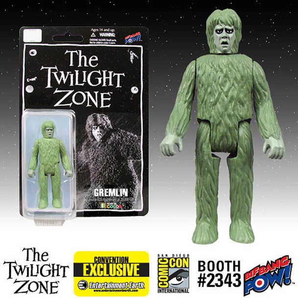 The Twilight Zone Gremlin 3 3/4-Inch Action Figure In Color - SDCC Exclusive