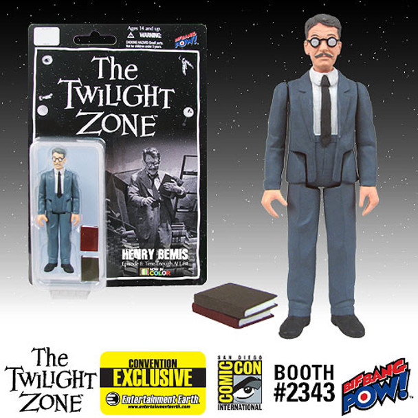 The Twilight Zone Henry Bemis 3 3/4-Inch Action Figure In Color - SDCC Exclusive