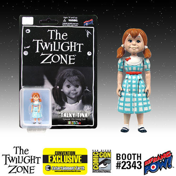 The Twilight Zone Talky Tina 3 3/4-Inch Scale Action Figure In Color
